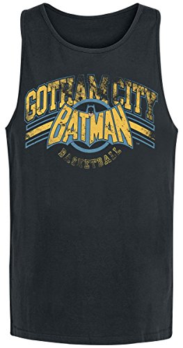 T-Shirt (Unisex-Xl) Gotham Basketball (Black)