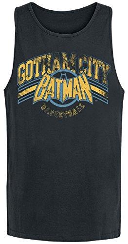 T-Shirt (Unisex-M) Gotham Basketball (Black)