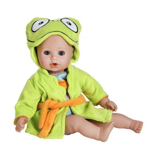"Adora BathTime Baby ""Frog"" 13' Fun Kids Bathtub Water / Shower / Swimming Pool Time Play Soft Cuddly Toy Play Doll Toddler Kids & Children 1+"
