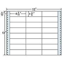 東洋印刷 タックフォームラベル 15インチ ×12インチ 24面付(1ケース500折) MX15T