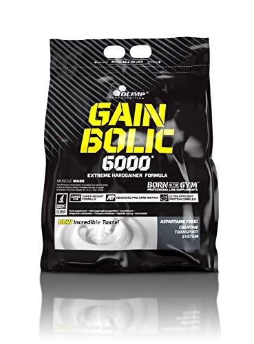 OLIMP SPORT NUTRITION Ganador De Masa Muscular Gain Bolic 6000 Con Sabor Vainilla - 6.8 Kg