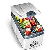 20L Mini Auto Clamshell Refrigerador Refrigeración rápida Congelador de autos Refrigerador Pantalla LED Icebox Enfriador Calentador Bajo Ruido