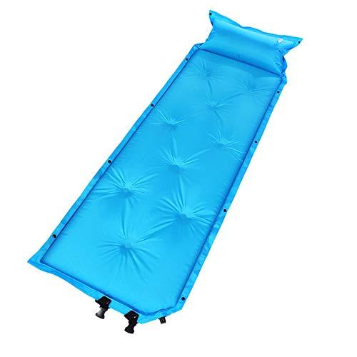C/H Almohadilla de dormir autoinflable, ultraligera con almohadilla de almohada, impermeable y duradero, colchoneta de aire para senderismo, viajes y actividades al aire libre