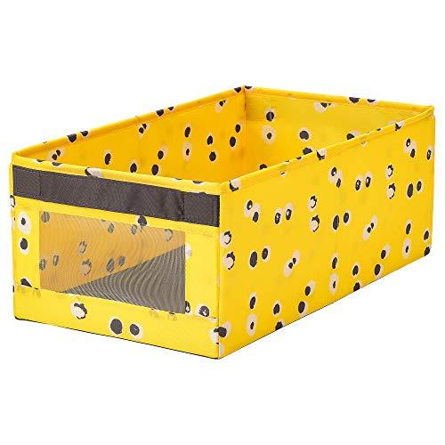 ANGELÄGEN låda 25 x 44 x 17 cm gul