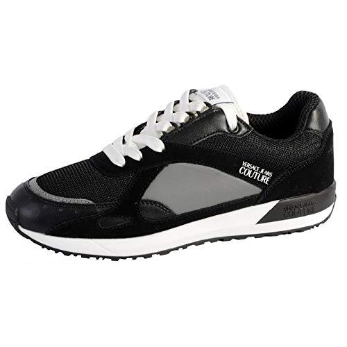 VERSACE JEANS COUTURE Eoyvbsr4 Sneaker Herren Schwarz - 43 - Sneaker Low Shoes