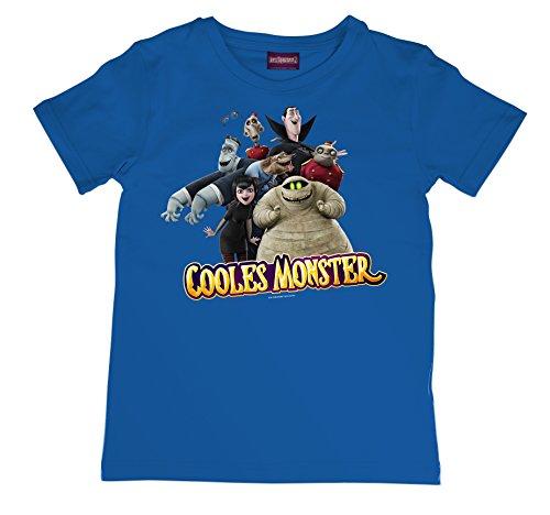 Hotel  Transsilvanien 2 (T-Shirt blau Größe 128 (M) (Jungen-Shirt))