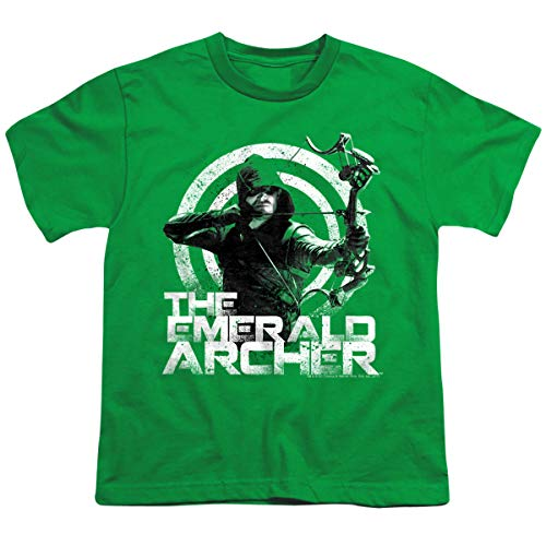 The Emerald Archer - CW's Arrow - The Television Series Youth T-Shirt, Youth Large