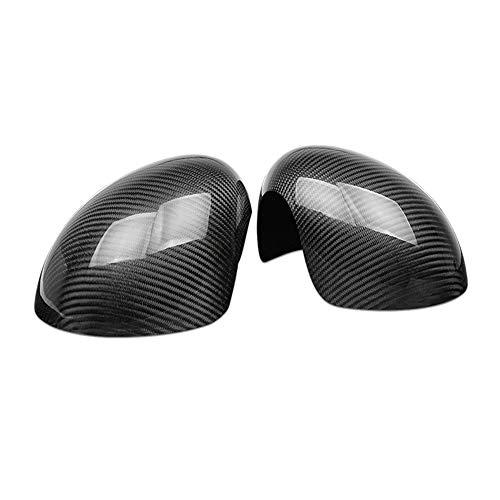 Heinmo Klappbare Seitenspiegel-Abdeckkappe aus Kohlefaser für Mini Cooper R55 R56 R57 R60 (Power-Faltspiegel-Modell)