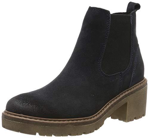 MARCO TOZZI Damen 2-2-25831-23 Chelsea Boots, Blau (Navy Comb 890), 40 EU
