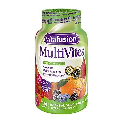 Vitafusion Multivites, 150 Gummies (Pack of 5)