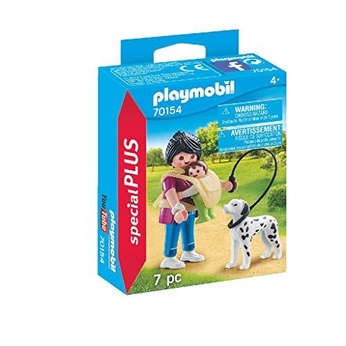 Playmobil 70154Special Plus Mamá con bebé y Perro, Multicolor