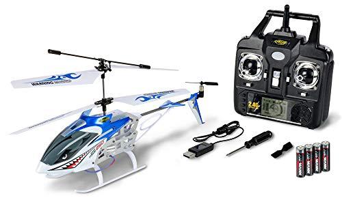 Carson 500507110 500507110-Easy Tyrann 250 2.4G RTF, Ferngesteuerter Helikopter, RC Hubschrauber, inkl. Batterien und Fernsteuerung, 100% flugfertig