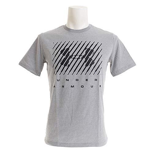 Under Armour Training Vent SS, t-shirt Homme, Vert (Saxon Green / Black), XL