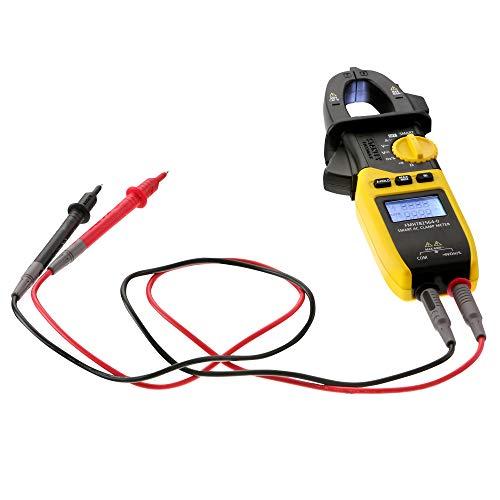 STANLEY FATMAX FMHT82564-0 - Multimetro digital inteligente de pinza, tensión 600V CA/CC