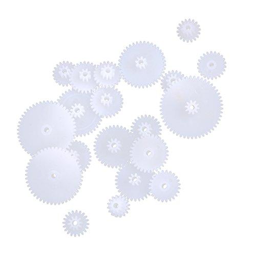19 Tyle De Plástico Engranajes Helicoidales Ruedas Dentadas