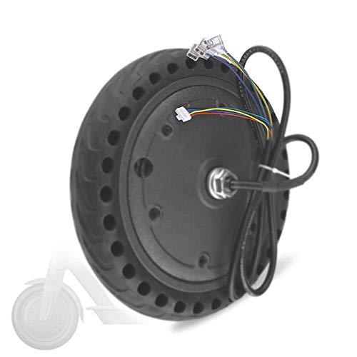 Compatible con Scooters eléctricos, Motor silencioso de CC sin escobillas de 36 V 250-350 W, neumáticos Antideslizantes Resistentes al Desgaste, reemplazo de Ruedas motrices de SCO