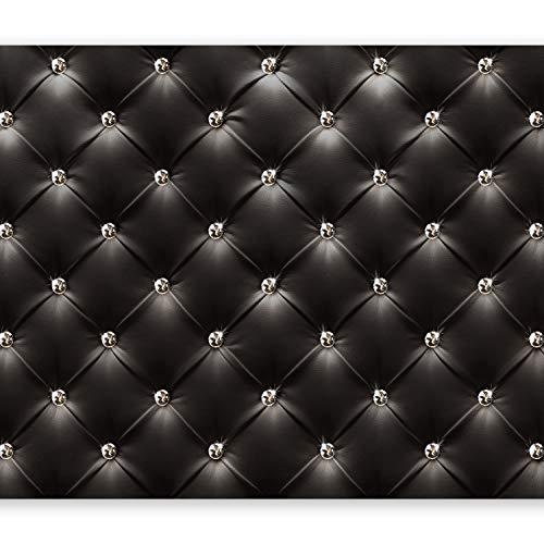 murando – Papier peint intissé – 250x175 cm – Papier peint – Tableaux muraux – Déco – XXL– moderne noir f-B-0046-a-a