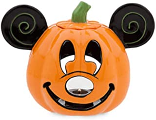 Disney Mickey Pumpkin Halloween Votive Candle Holder