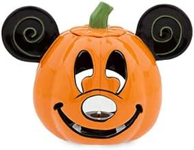 Disney Mickey Pumpkin Halloween Votive Candle Holder
