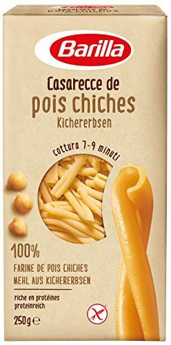 Barilla Pasta Legume aus Hülsenfrüchten Casarecce Kichererbsen , 250 g