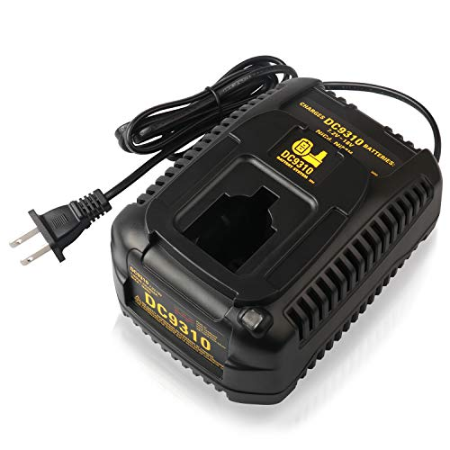 Batteriol DC9310 Fast Battery Charger for Dewalt 7.2V - 18V Ni-CD & Ni-MH Cordless Drill XRP Batteries DC9096 DC9098 DC9099 DC9091 DC9071 DE9057 DW9096 DW9094 DW9072-18 Months Warranty