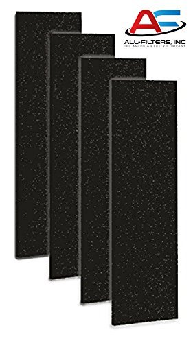Carbon Activated Pre-Filter 4-pack for use with the GermGuardian FLT4825 HEPA Filter, AC4800 Series, Filter B, CP-6056