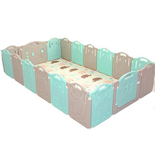 HTL Hogar Infantil, Cubierta Cerca de Seguridad Gota Niño Cerca Cerca Aislamiento Puzzle Game Toy Room 55-86Cm Game House,E