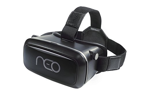 3D Virtual Reality Headset for Movies & Games - Multifocal VR Glasses with HD Technology | Compatible with iPhone & Android - VR Headgear with Adjustable Straps & Comfortable Padding - VRidium