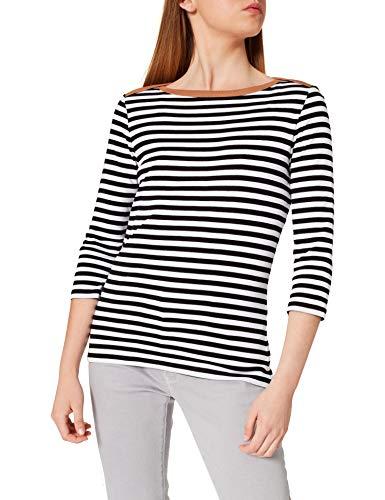 edc by Esprit 991cc1k302 Camiseta, 001/Black, XXL para Mujer