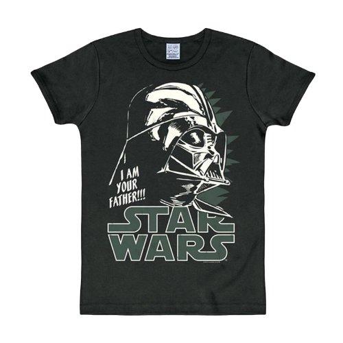 Star Wars - Dark Vador Logo T-Shirt S - XXL