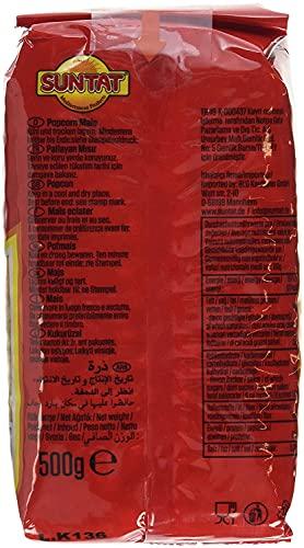 SUNTAT Popcorn Mais, 3er Pack (3 x 500 g) - 2