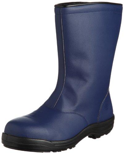 [ミドリ安全] 安全作業靴 先芯入り 冷凍庫内作業用 氷上 耐滑 ボア内装 半長靴 SG240 防寒 メンズ ネイビー JP 28.0(28cm)