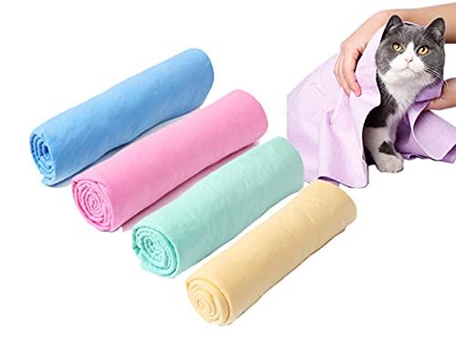 Da.Wa 1 toalla de baño absorbente de PVA de 43 x 32 cm (azul)