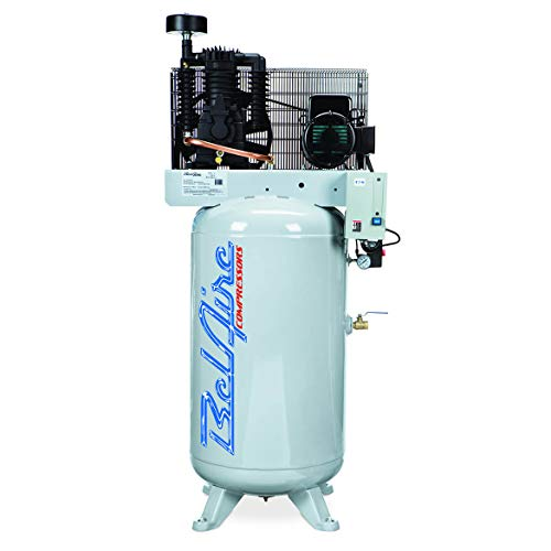 BelAire 318VL 7.5 HP 80 Gallon 1-Phase Vertical 2 Stage Air Compressor with Starter