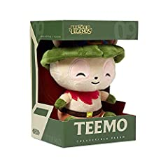 Approximate Measurements: Plush stands at 7 inches tall. Polyester Fiber Teemo is #09 in the Collectible Plush line. This product is not intended for children under 3 years