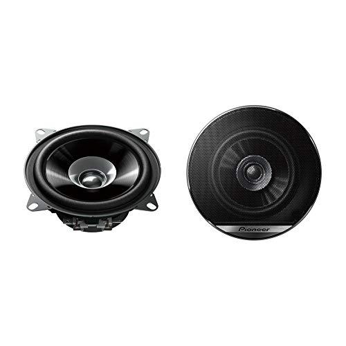 Pioneer TS-G1010F Doppelmembranlautsprecher für Autos (190 W), 10 cm, kraftvoller Klang, IMPP-Membran für optimalen Bass, 30 W Eingangsnennleistung, 43 mm Einbautiefe, schwarz, 2 Lautsprecher