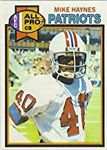 1979 Topps Regular (Football) card#35 Mike Haynes AP of the New England Patriots Grade Near Mint
