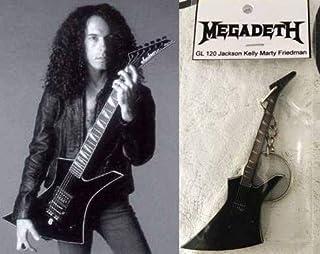 Llavero Guitarra Jackson Kelly Marty Friedman Megadeth