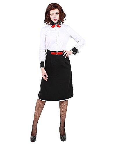 Miccostumes Elizabeth Cosplay-Kostüm für Damen -  Weiß -  Large