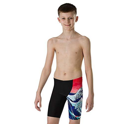 Speedo Origiwave Allover V Cut Panel zwembroek voor jongens