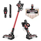 Cordless Vacuum Cleaner, Max Power 80AW Electric Broom H12 Level Advanced Filtering System 4 in 1 Stick Vacuum...