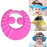 LayOPO Safe Shampoo Shower Baden Schutzkappe, Soft Hat Verstellbare Schirmmütze Wash Hair Shield...