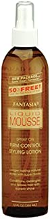 Fantasia Liquid Mousse Firm Style Lotion, 12.0 Ounce