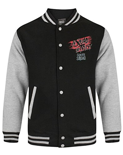 DC Comics Suicide Squad Men's Varsity Jacket (XL)