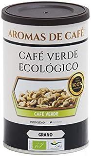 Aromas de Café - Café Verde Ecológico - Efecto Diurético y Depurativo - Contiene Antioxidantes - Mejora la Concentración - Retrasa la Fatiga - Sabor Agradable - Sin Gluten - 200 gr.