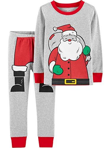 Carter's Baby Boys 2-Pc. Snug-Fit Santa Cotton Pajamas Set