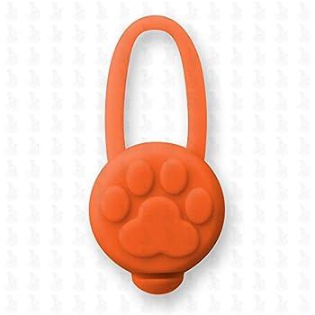 pendentif lumineux pour chien - collier lumineux Led , collier pour chien LH10 - Médaille LED de Leuchthund® Pendentif Led (orange)