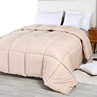 Utopia Bedding Comforter Duvet Insert - Quilted Comforter with Corner Tabs - Box Stitched Down Alternative Comforter
