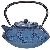 Mayer&Boch Teiera giapponese in ghisa, con infusore, teiera asiatica per tè sfuso, colore verde chiaro, 850 ml