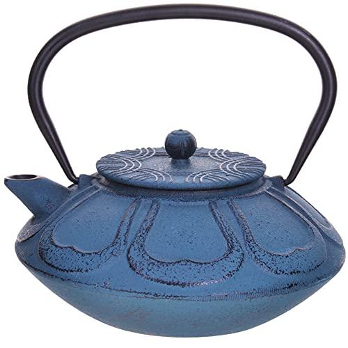 Mayer&Boch Japanische Gusseisen-Teekanne / Kaffeekanne mit Teesieb, Teekanne für losen Tee, hellgrün, 850 ml (29 OZ) (Japanese)